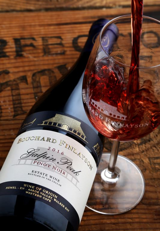 Bouchard Finlayson 2016 Galpin Peak Pinot Noir WITH GLASS