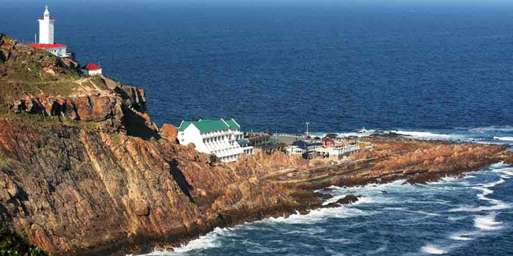 The Point Hotel Lighthouse aerial