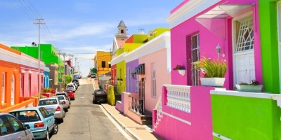 The many colours of Bo-Kaap, Cape Town.