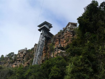The Glass Elevator in Graskop Gorge reaches one year