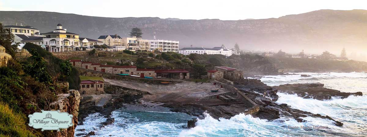 Village Square - seaside shopping in Hermanus